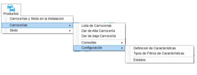 Opción configuración