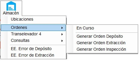 10.2 Opción ordenes