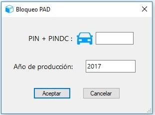 13.1 Opción Bloquear PAD (SPPD)