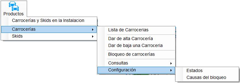 8. Opción Configuracion