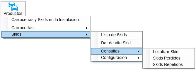 8.3.3 Opción consultas
