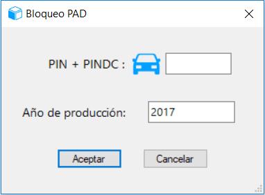 Bloquear PAD+