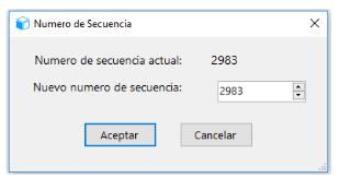 Opción KP01. Secuencia de salida